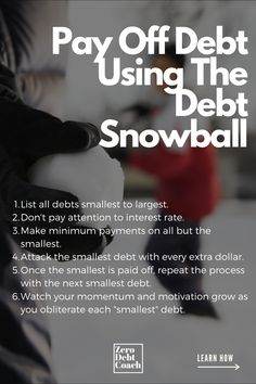 Let's talk about the amazing debt snowball. The debt snowball method has proven itself to be the easiest and fastest way to get out of debt. There's even scientific data that suggests that listing debts from smallest to largest provides the greatest momentum. Free debt snowball worksheet included.