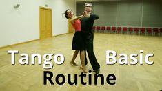 How to Dance Tango Basic Routine | Tango Figures for Beginners
