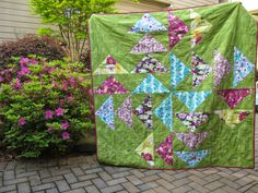 Four Winds Quilt by Modern Cozy