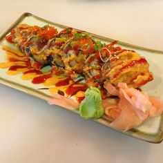 CRISPY ROLL - New Town Sushi - Zmenu, The Most Comprehensive Menu With Photos