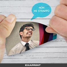Biglietti antistrappo per il tuo business! Scopri il mondo di Exaprint  http://bit.ly/Registrati_su_Exaprint