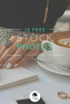 10 free stock photos for creative entrepreneurs. No attribution required. Use as you please! Perfect stock photos for your blog or Instagram.