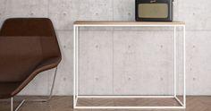 console minimaliste pour intérieur loft Console Style, Console Design, Etagere Design, Table Design, Loft, Magazine Rack, Cabinet, Storage, Furniture