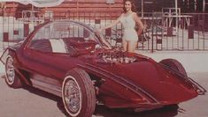 "This is the ""Silhouette"" — a custom show hot rod built by Bill Cushenberry in the 60s. My favorite car ever."