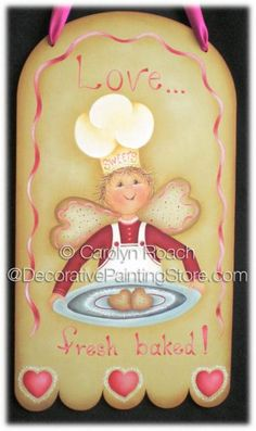 Sweets Chef ePattern - Carolyn Roach - PDF DOWNLOAD
