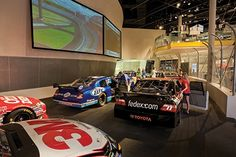 NASCAR Hall of Fame | Chandra Johnson's Art Lover's Guide to Charlotte, North Carolina | The 150,000 square foot space has something for everyone, even those who don't follow the sport. It's an educational, interactive experience with a famous gift shop where Johnson recommends picking up a No. 48 Jimmie Johnson hat.