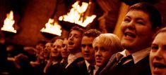 Draco's face