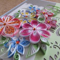 Your place to buy and sell all things handmade Paper Quilling Cards, Quilled Paper Art, Paper Quilling Designs, Quilling Craft, Quilling Ideas, Quilling Instructions, Quilling Tutorial, Paper Quilling For Beginners, Quilling Techniques