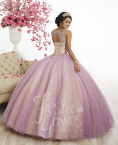 b219faa4f8b Two-Tone Tulle Quinceanera Dress by Fiesta Gowns 56344 – ABC Fashion