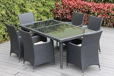 Special Offers - Genuine Ohana Outdoor Patio Wicker Furniture 7pc All Weather Dining Set with Free Patio Cover For Sale - In stock & Free Shipping. You can save more money! Check It (February 06 2017 at 06:52AM) >> https://gardenbenchusa.net/genuine-ohana-outdoor-patio-wicker-furniture-7pc-all-weather-dining-set-with-free-patio-cover-for-sale/