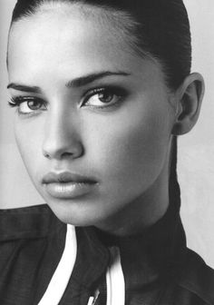 """I am mixed with African, native Indian, and Swiss....my family is all mixed, with Japanese, black, and West Indian."" Model: Adriana Lima Orijin: Adriana identifies herself as Afro-Brazilian"