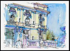 Urban Sketchers Seattle: Tacoma Westcoast Sketch Crawl