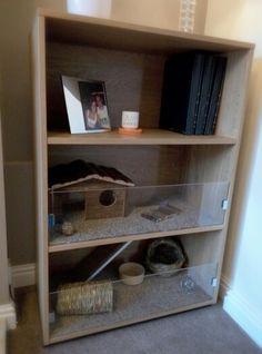 IKEA hack DIY guinea pig cage