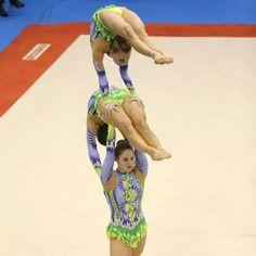 Strength and Flexibility. Acrobatic Gymnastics, Flexibility, Strength, Amazing, Sports, Style, Gymnastics, Hs Sports, Swag