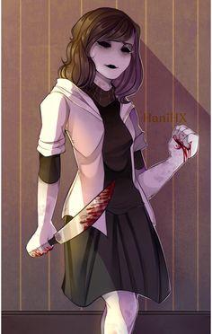 """The shadow of revenge"". Art by: (c) HaniHX."