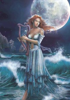 Buy Moonlight puzzle by Cris Ortega at Posters Point. All types of puzzles of different difficulty and number of pieces. Cris Ortega, Musica Celestial, Fantasy Kunst, Gifs, Fantasy Art Women, Fantasy Heroes, Beautiful Gif, Animation, Gods And Goddesses