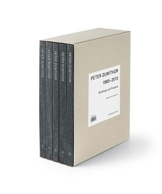 Peter Zumthor: Buildings and Projects 1985-2013 Thomas Durisch (Editor), Peter Zumthor (Contributor)     800 Pages