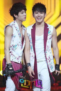 Woohyun and Hoya
