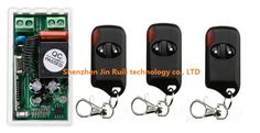 Most simple wiring 220V 1CH Wireless Remote Control Switch System 1*Receiver + 3*Transmitters for Appliances Gate Garage Door. Yesterday's price: US $18.20 (14.89 EUR). Today's price: US $16.56 (13.67 EUR). Discount: 9%.