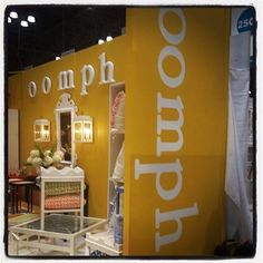 Oomph booth NYNOW - August on NYC