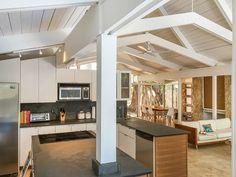 Darrel Fleeger mid-century house miami kitchen