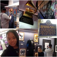 Spent my day off learning & being productive at the #GrammyMuseum #NARAS: Barry White, Prince, Frank Sanatra, The Supremes and Mississippi Blues. #TourBusDiaries
