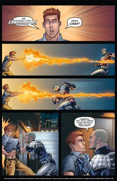 The Young Protectors: Engaging The Enemy—Page 4 - Yaoi 911 Webcomics
