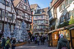 Postcard from Colmar Christmas Market Alsace : The Good Life France