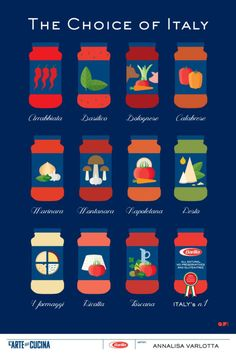 Creative Designs from the Barilla L'arte della Cucina Poster Design Contest Photo