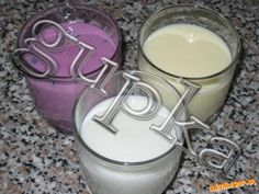 Domáci Actimel Russian Recipes, Kitchen Hacks, Glass Of Milk, Smoothie, Homemade, Drinks, Health, Desserts, Food