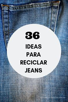 36 ideas para reciclar jeans o ropa vaquera 36 ideas para reciclar jeans o ropa vaquera 36 ideas para reciclar jeans o ropa vaquera The post 36 ideas para reciclar jeans o ropa vaquera appeared first on Berable. Diy Jeans, Jean Crafts, Denim Crafts, Old Dress, Artisanats Denim, Diy Bags Purses, Old Clothes, Recycled Denim, Clothing Hacks