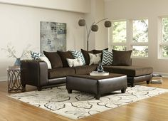 The Reggae Vibes sectional is the perfect statement piece for your living room! The sides of the sectional are covered in a rich brown leather-like fabric, while the cushions are covered in a tightly woven microfiber. Microfiber is a durable, comfortable fabric that stands the test of time with ease [...]