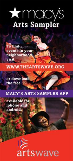 Macy's Arts Sampler 2014 Flyer