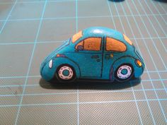 Great little stone painted car!!