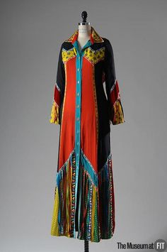 Dress Giorgio di San't Angelo, 1971 The Museum at FIT