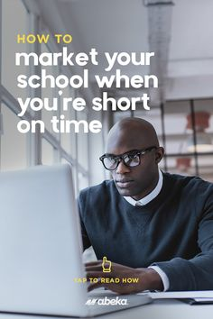 How do you market your school when you're short on time? Where do you even begin? We are giving you all the answers today on the Abeka blog! School Calendar, Marketing Channel, Social Media Ad, Front Office, Christian School, Search Engine Marketing, Find People, Inbound Marketing, Print Ads