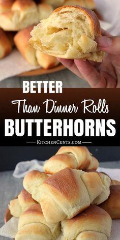 The Best Butterhorn roll recipe   Kitchen Cents