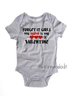 Perfect onesie idea for your little man! Customize Yours Today at #bigfrog of #valrico #brandon #valentines