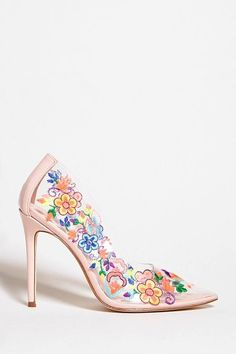 FOREVER 21 Privileged Shoes Stiletto Heels Female Fashion and Woman Style.  Klick to see the