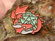 Critical Pin by ClockworkDragonArt on Etsy