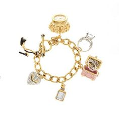 Juicy Couture charm bracelet been adding to mine for years!!! I adore charm bracelets!