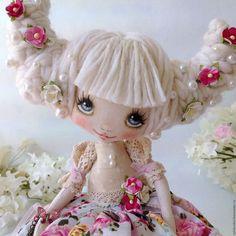 handmade boneca perfumado.  Mestres Fair - feito à mão.  Compre Felicia.  Handmade.  boneca colecionável, boneca têxtil