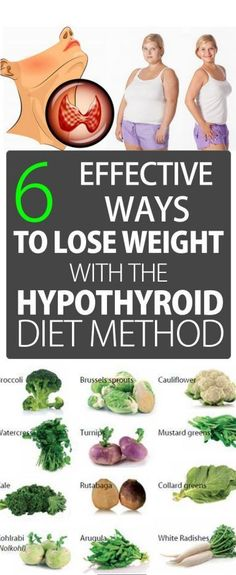 6 Effective Ways to Lose Weight With the Hypothyroid Diet Method