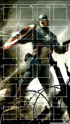 Capt. America iPhone 5 Icon Wallpaper