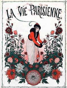 La Vie Parisienne.  Art by Armand Vallee