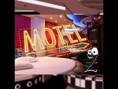 """Gente! Estive no Motel Escorpios no ano passado.Atendendo a pedidos, estou """"requentando"""" esta matéria onde na época passei no LEX, peguei o Rafa e fomos para o motel.A Gerente Mara foi super legal e abriu as portas do motel para nós. Veja só as curiosidades que ela contou que acontecem dentro de um motel..."""