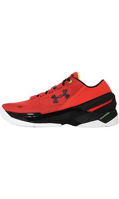 Under armour Mens Curry 2, ENERGY BASIC-RED/BLACK, 12 M US Best Price