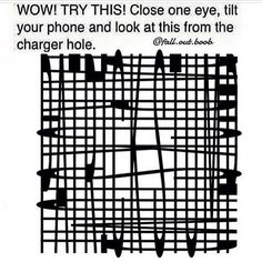 Is it bad that I can see it without doing the 'trick