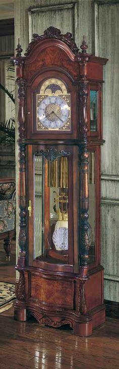 Grandfather clock - repurpose into magic clock via www.magicclock.de