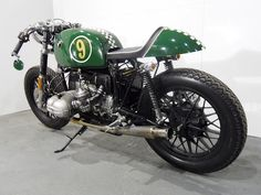 BMW Cafe by Kevils Speed Shop #CafeRacer #TonUp